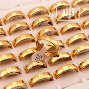 Gold Steel Wedding Band | Jewelry for sale in Lagos State, Surulere