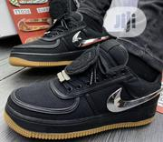 Nike Air Force 1 07 Travis Scott Black Sneakers | Shoes for sale in Lagos State, Ikeja