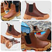 Gucci Men Ankle Boot Mix -brown Boot | Shoes for sale in Lagos State, Ikeja