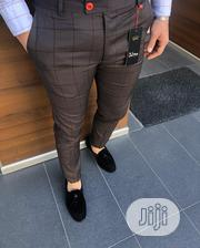 New Quality Designer Men Brown Pant Trousers | Clothing for sale in Lagos State, Ikeja