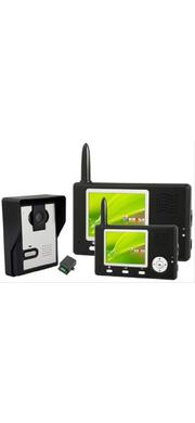 2.4ghz 400meters Wireless Video Door Phone + Double Display Monitors | Home Appliances for sale in Lagos State, Ikeja