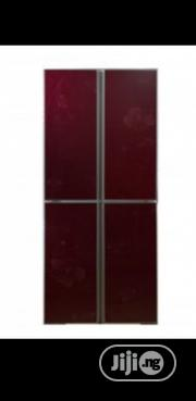 Nexus 450 Red Back Mirror Refrigerator | Kitchen Appliances for sale in Lagos State, Lekki Phase 1