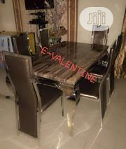 High Quality Imported Marble Dining Table With 6 Chairs | Furniture for sale in Lagos State, Lekki Phase 1
