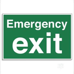 Emergency Exist Sign