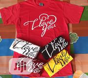 Valentine Round Neck T-Shirt | Clothing for sale in Lagos State, Lagos Island