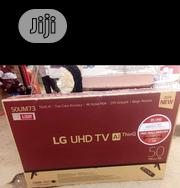 50inch LG , With Webos ,UHD TV, With 2 Years Warranty | TV & DVD Equipment for sale in Lagos State, Ojo