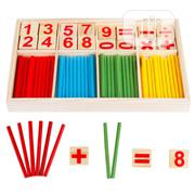Intelligence Wooden Digit Mathematical Stick Toy For Kids | Toys for sale in Lagos State, Ikeja