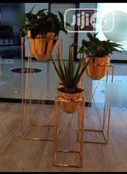 3 Pieces Gold Floor Planters/Vase | Home Accessories for sale in Lagos State, Lekki Phase 2