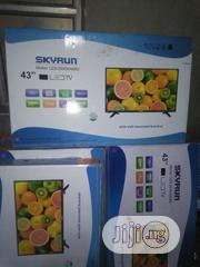 "Skyrun 43"" Led Television With 2yrs Warranty. 