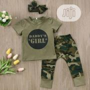 2pcs Daddy's Girl Outfit | Children's Clothing for sale in Lagos State, Amuwo-Odofin