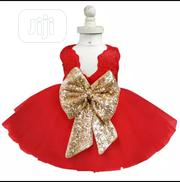 Red Cindy Wit Bow | Children's Clothing for sale in Lagos State, Amuwo-Odofin