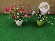 Fake Mini Cup Potted Flowers For Hotels Decor | Garden for sale in Lagos State, Ikeja