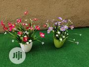 Artificial Mini Cup Potted Flowers For Office Decorations | Garden for sale in Lagos State, Ikeja