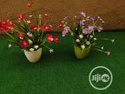 Beautiful Mini Cup Potted Flowers For Sale In Ikeja | Garden for sale in Lagos State, Ikeja