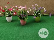 Synthetic Mini Cup Flowers For Dining Table Decorations | Landscaping & Gardening Services for sale in Lagos State, Ikeja