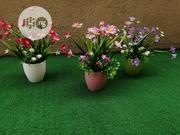 Fake Mini Cup Potted Flowers For Boutique Decor | Garden for sale in Lagos State, Ikeja