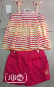Girls 2 Piece Tank Abd Shorts Set - 4yrs | Children's Clothing for sale in Lagos State, Surulere