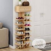 Beautiful Wooden Shoe Rack | Furniture for sale in Lagos State, Ikorodu