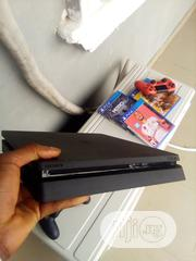 Clean Ps4 Slim With 3 Games | Video Games for sale in Delta State, Sapele