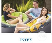 Inflatable Armchair Empire Intex 66582 Yellow | Home Accessories for sale in Lagos State, Ojo