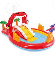 Intex 57160 Happy Dino Play Center Pool For Kids With Toys | Sports Equipment for sale in Lagos State, Ojo