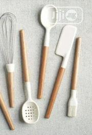 Cooking Utensils With Wooden Handle and Silicone Tip | Kitchen & Dining for sale in Abuja (FCT) State, Wuse