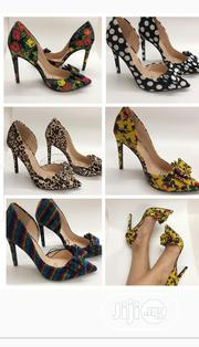 New Lady's Fabric Designer Heel Shoes | Shoes for sale in Lagos State, Lekki Phase 1
