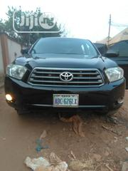 Toyota Highlander 4x4 2008 Black   Cars for sale in Anambra State, Onitsha