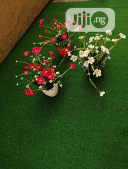 Mini Potted Synthetic Flower For Residential Interior Decor | Landscaping & Gardening Services for sale in Lagos State, Ikeja