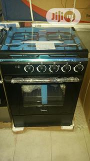 Midea 4burner Gas Cooker ( 60 by 60cm ) | Kitchen Appliances for sale in Lagos State, Lekki Phase 1
