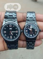 Police Couple's Black Chain Wristwatch | Watches for sale in Lagos State, Surulere