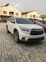 Toyota Highlander LE 4dr SUV (3.5L 6cyl 6A) 2015 White | Cars for sale in Lagos State, Ajah