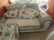 Fabric And Leather Royal Sofa | Furniture for sale in Lagos State, Ikeja