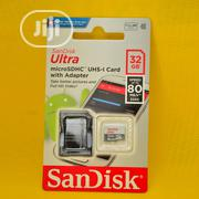 Sandisk 32gb Memory Card(Class 10) | Accessories for Mobile Phones & Tablets for sale in Lagos State, Ikeja