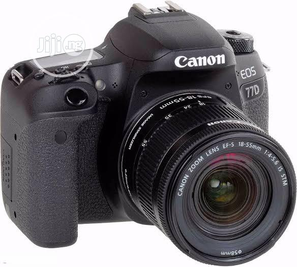 Canon Eos 77d With 18-55mm Lens (Brand New)