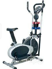 4 Handle Orbitrac Elliptical Bike With Dumbbells | Sports Equipment for sale in Lagos State, Surulere