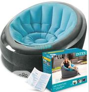 Intex Leather Colorful Round Sofa Chair | Furniture for sale in Lagos State, Ikorodu
