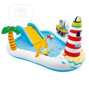 Intex Home/School Fishing Fun Play Center Inflatable Kiddie Pool | Toys for sale in Lagos State, Yaba