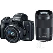 Canon EOS M50 Mirrorless Camera Kit W/Ef-M15-45mm and 4K Video- Black | Photo & Video Cameras for sale in Bayelsa State, Yenagoa