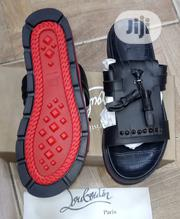Christian Louboutin Men's Black Slippers | Shoes for sale in Lagos State, Surulere