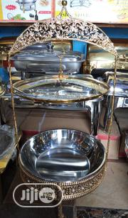 Chaffing Dish Gold Glass Cover. | Restaurant & Catering Equipment for sale in Lagos State, Lagos Island
