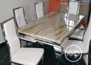 New Six Seater Marble Dining Table | Furniture for sale in Lagos State, Ikeja