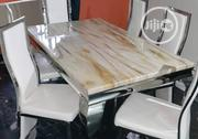 A High Quality Six Seater Marble Dining Table | Furniture for sale in Lagos State, Surulere