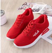 Women Fila Canvas Red. | Shoes for sale in Lagos State, Ojodu