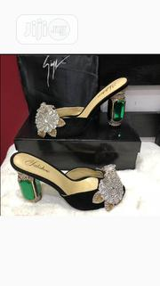 Honey Beauty Peep-Toe Heel Slippers | Shoes for sale in Lagos State, Lagos Island