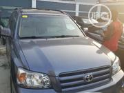 Toyota Highlander 2006 V6 4x4 Blue | Cars for sale in Lagos State, Amuwo-Odofin