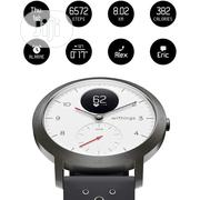 Withings Steel HR Sport Smartwatch (40mm)-activity Tracker, Heart Rate | Smart Watches & Trackers for sale in Lagos State, Ikeja