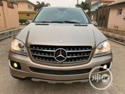 Mercedes-Benz M Class 2008 Gold   Cars for sale in Lagos State, Agege