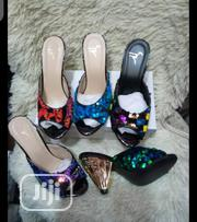 Zanotti Ladies Cone Heel Slippers | Shoes for sale in Lagos State, Lagos Island