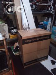 Professional Studio Flash With 2 Stand And Umbrella   Accessories & Supplies for Electronics for sale in Lagos State, Ikeja